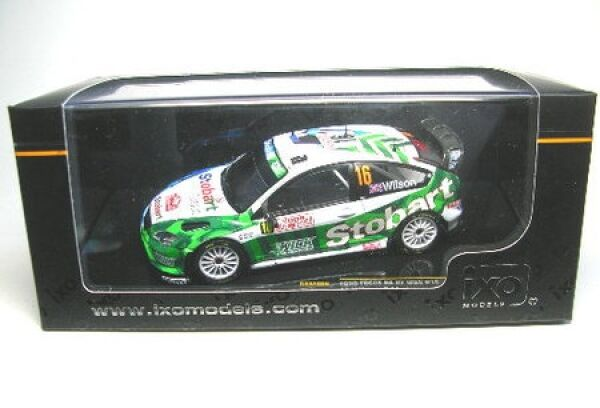 Ford focus rs 07 wrc Nº 16 rally monte carlo 2008