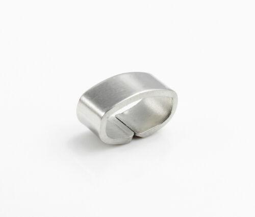 4x Acier Inoxydable Tiroir ID 10 x 4,5 mm Bijoux Fabrication Bracelet Ancre