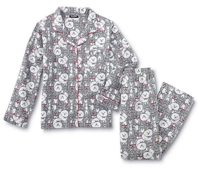 Flannel Pajamas Plus Size 1X,2X,3X Women 100/% Cotton Winter Set 20//22//24//26 NEW