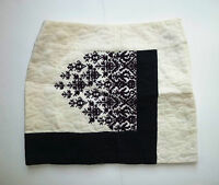 Anthropologie Needlepoint Quilted Skirt By Floreat - Sz 8