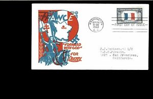 1943-FDC-Overrun-Nations-Washington-DC