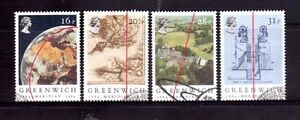 GREAT-BRITAIN-1984-Greenwich-meridian-set-used