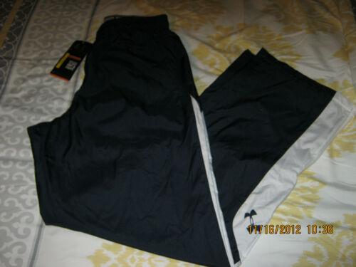 NWT Under Armour Men/'s Polyester All Season Gear Athletic Lined Zip Leg Pants
