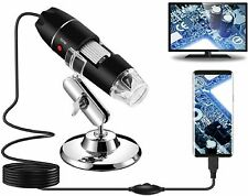 1600x Microscopes Camera Magnifier Digital For Android Mac Window Cellphone Pc