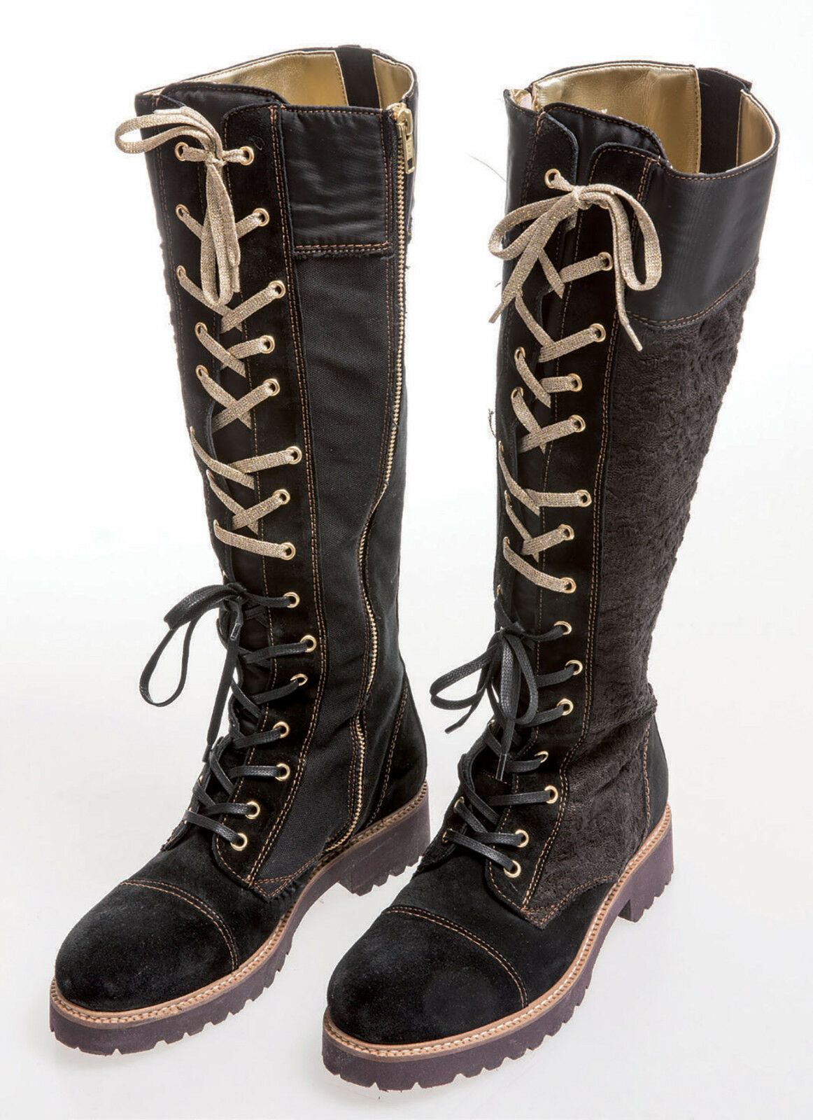 Elisa Cavaletti bota botas   Biker Biker Biker zapatos negro talla 40  Echt Leder   saludable