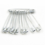 Lots Needles Safety Pins Silver Assorted Size Small Medium Large Sewing Craft