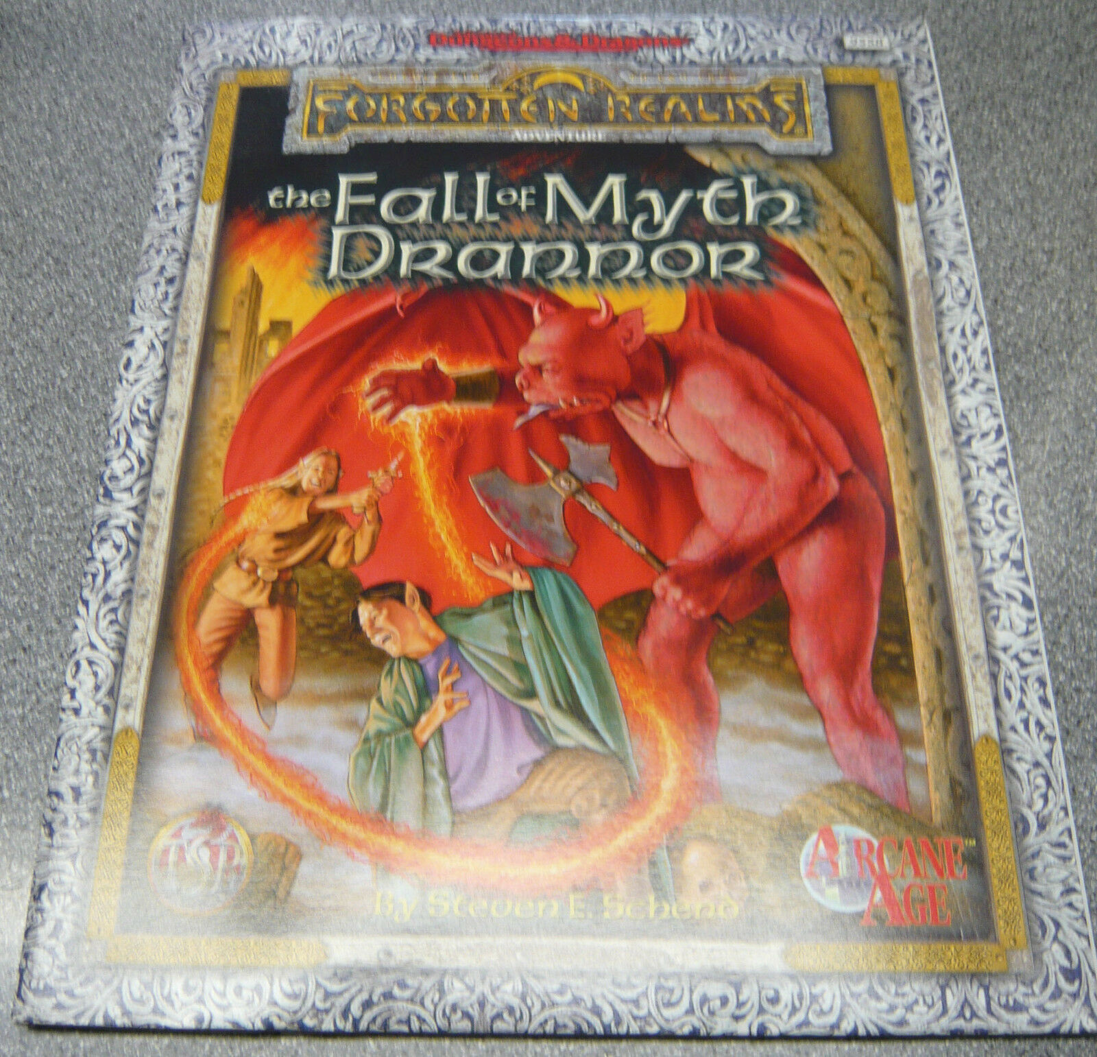 Dungeons and Dragons The Fall Of Myth Drannor NEW