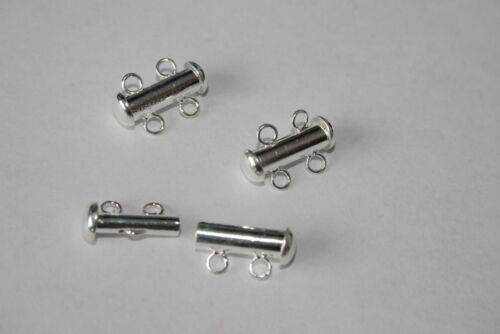 Jewellery clasps various options silver gold toggle lobster tube push heart