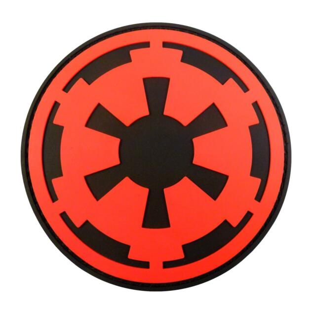 Star Wars Galactic Empire Crest Insignia Pvc 3d Rubber Imperial