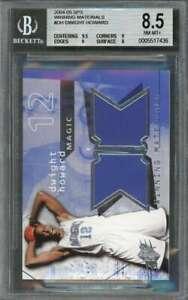 Dwight-Howard-Rookie-Card-2004-05-Spx-Winning-Materials-Dh-BGS-8-5-9-5-9-9-8