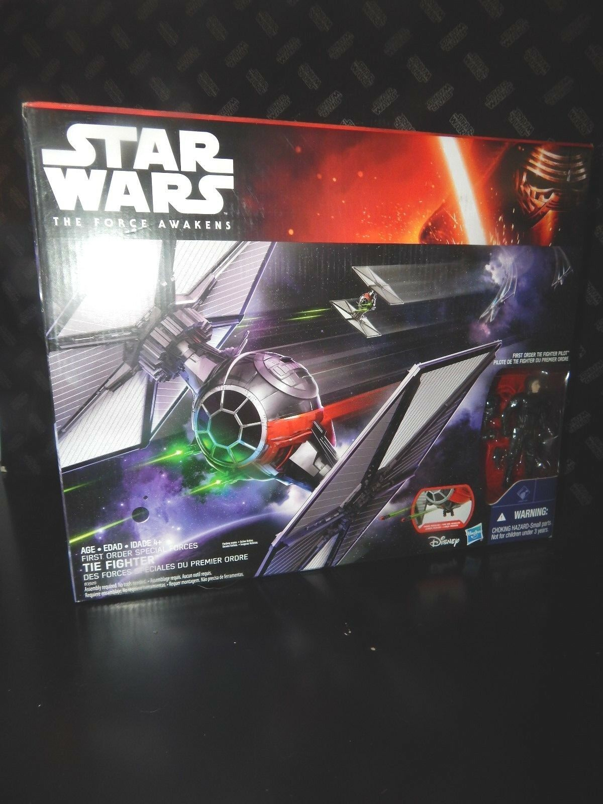 STAR WARS  The Force Awakens First Order TIE Fighter MISB