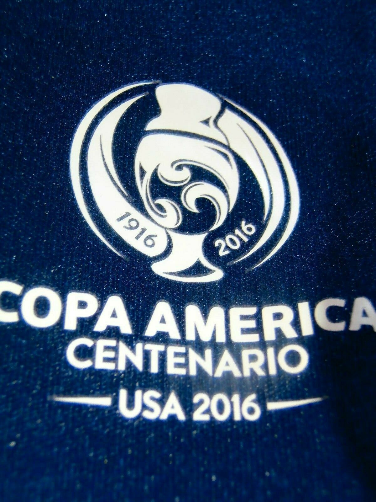 USA COPA AMERICA RARE 1916  2016 100 YEAR ANNI SOCCER FOOTBALL JERSEY TAG XL