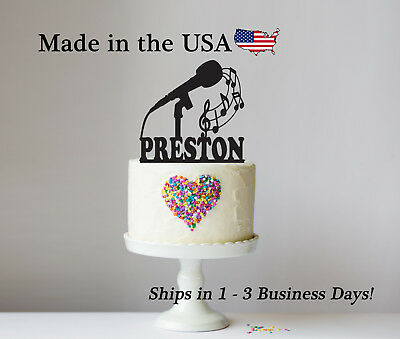 Any Name Personalized Topper Boxing  Cake Topper LT1223