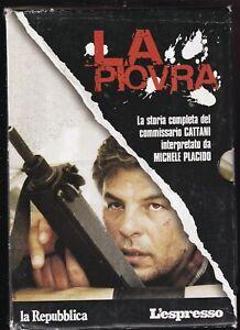 EBOND La Piovra Stagioni 1-2-3-4 Cofanetto 13 DVD Slimcase EDITORIALE D564831
