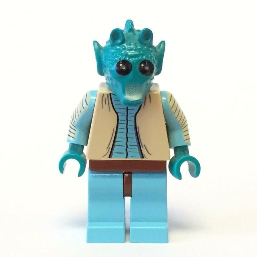 NEW LEGO GREEDO FROM SET 4501 Stern WARS EPISODE 4 5 6 (SW0110)