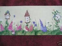 Wallpaper Borders Asst. Birdhouses Butterflies Soo Cute Run 2c 240b63971