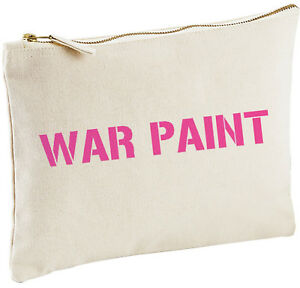 Image Is Loading War Paint Make Up Bag Funny Birthday Gift