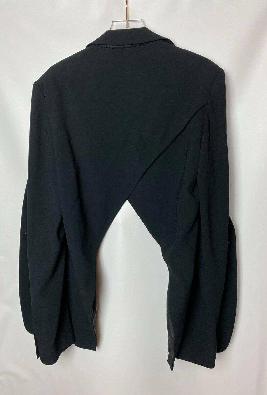D K N Y  Open Back Single button Women's Jacket S… - image 4