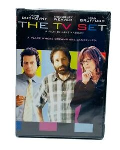 The-TV-SET-DVD-David-Duchovny-Sigourney-Weaver-Ioan-Gruffudd-Judy-Greer-SEALED
