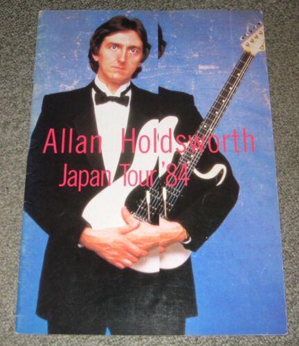 ALLAN HOLDSWORTH Japan tour book No.1 CONCERT PROGRAMME Yes BILL BRUFORD UK 1984