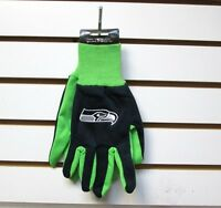 Brand Nfl Seattle Seahawks Embroidered Team Work Sport Utility Gloves