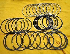 Sbc 350 383 Pro Series Piston Rings .40 302 351w Moly
