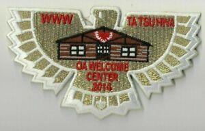 Boy-Scout-OA-138-Ta-Tsu-Hwa-Lodge-2014-Welcome-Center-Flap