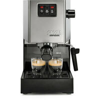 Gaggia Classic 2015 | Manual Espresso Coffee Machine Complete With Milk Frother