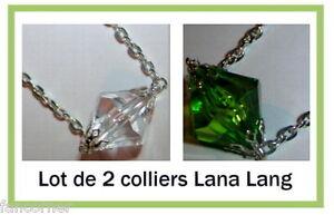 Smallville-lot-de-2-colliers-lana-lang-Smallville-lana-lang-039-s-necklace-lot-of-2