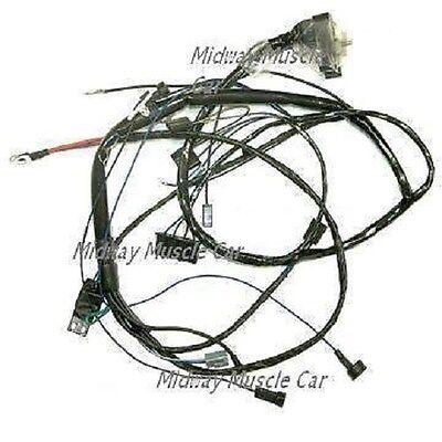 engine wiring harness v8 69 pontiac gto lemans tempest 1969 400 350 ebay 1969 Pontiac Gto Wiring