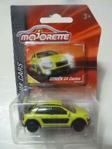 Majorette Premium Cars Citroen C4 Cactus Pour Convenir à La Commodité Des Gens