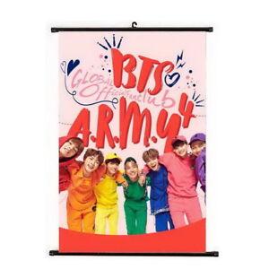 Kpop-Bangtan-Boys-Hanging-Painting-Art-Painting-Wall-Scroll-Poster