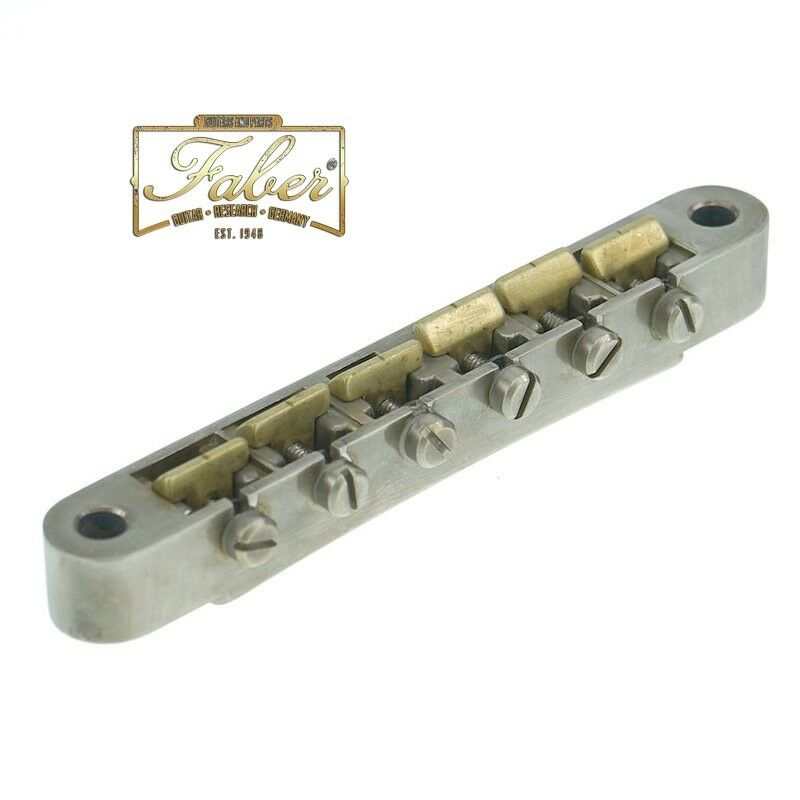 Faber ABRN-59-BA,ABRN59BA,Natural Brass Saddles fits Nashville Studs,Aged Finish
