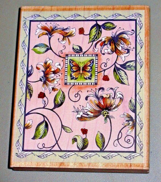 Butterfly Stamp Basteln, Malen & Nähen Rubber Stampede
