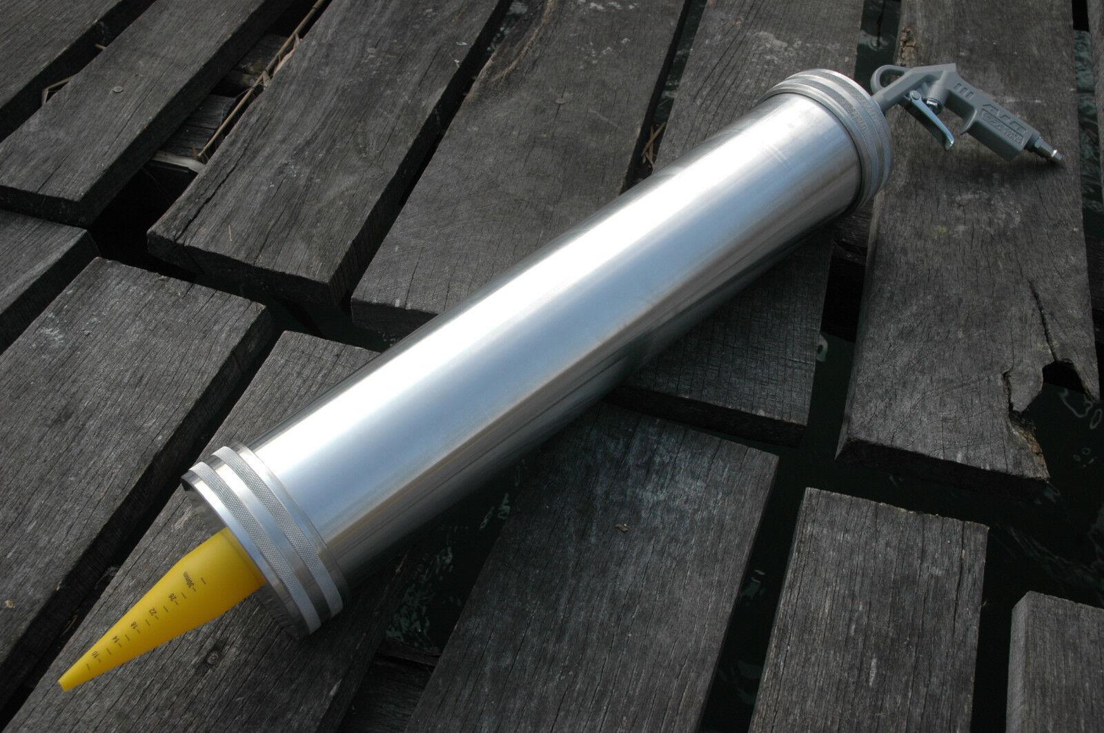 Boiliegun für 4kg Teig - Presse Presse Presse Airgun Boilies selber Rollen Roller + 3 Düsen b8cc10
