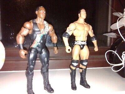 WWE Mattel figure ELITE NATION THE ROCK DWAYNE JOHNSON HOBBS KID Toy Wrestling