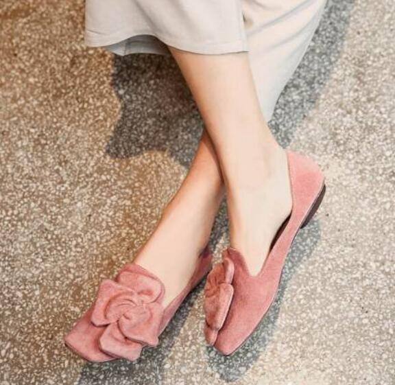 Women Flowers Flat Loafers Moccasins Driving Slip On Pumps Casual Elegant shoes
