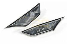Crystal Smoke Bumper Reflector Side Marker Lights Lamps For 16 21 Honda Civic