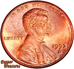 Uncirculated 1992 D Lincoln Memorial Cent Fresh From OBW Roll
