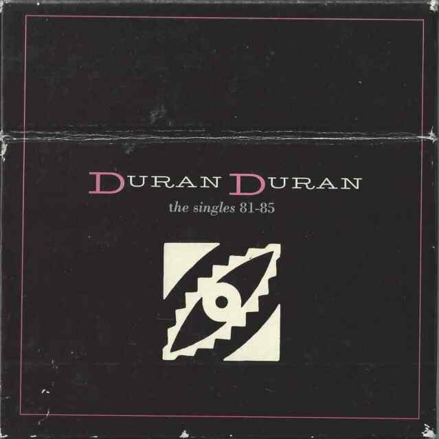 DURAN DURAN - THE SINGLES 81-85 EMPTY BOX ONLY NO CD SINGLES REPLACE/SPARES ONLY