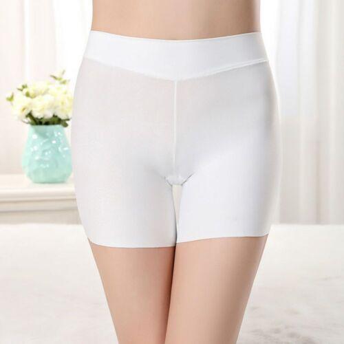 Silk Comfortable Silky Feel Lingerie High Waist Safety Short Pants Underwear
