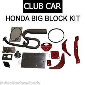 Details about Club Car DS Golf Cart Honda GX630 Jakes Big Block  Installation Kit 7216