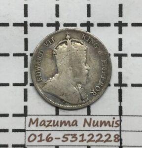 Mazuma *FC62 Hong Kong Edward VII 1903 10 Cents Silver .800 VF Only
