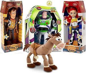 fcc9a5e45b14f Disney Toy Story Jessie Buzz Lightyear Woody Que Habla figura ...