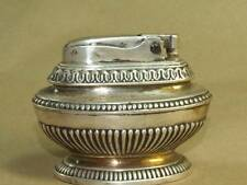 Vintage Ronson Queen Anne Silver Plated Heavy Table lighter