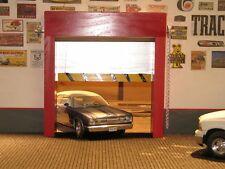 1/18 - WORKING ROLL-UP GARAGE DOOR (ver 2)  FOR  YOUR SHOP/GARAGE/DIORAMA