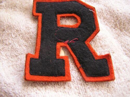 """Letterman/'s Jacket Patch /""""R/""""  Lettermen/'s"""