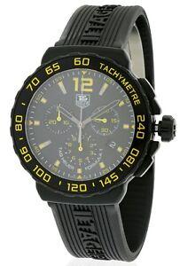 7134bfe6d79 La foto se está cargando Tag-Heuer-de-Formula-1-Goma-Cronografo-Reloj-