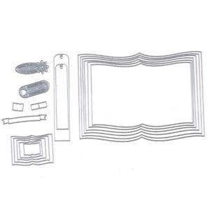Book-Nesting-Dies-Bookmark-Banner-Die-Set-Metal-Cutting-Die-Cutter-Stencil-DIY