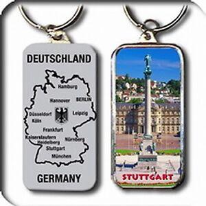 STUTTGART-Schlusselanhanger-Germany-Metall-9-5-cm-NEU